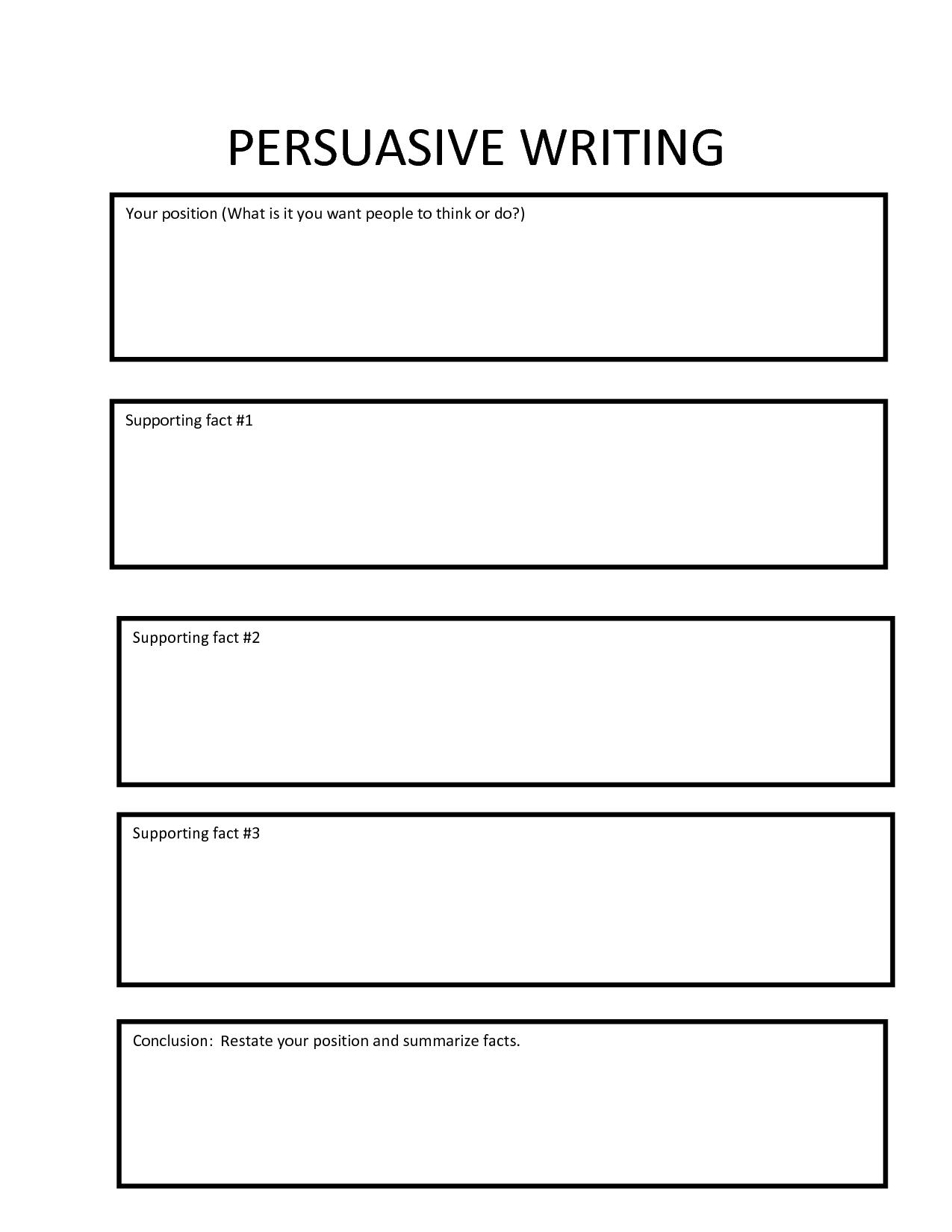 004 Persuasive Essay Graphic Organizer Amazing Argumentative Middle School Pdf Writing 5th Grade Answers Full
