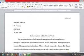 004 Proper Essay Heading Example Awesome Mla Writing