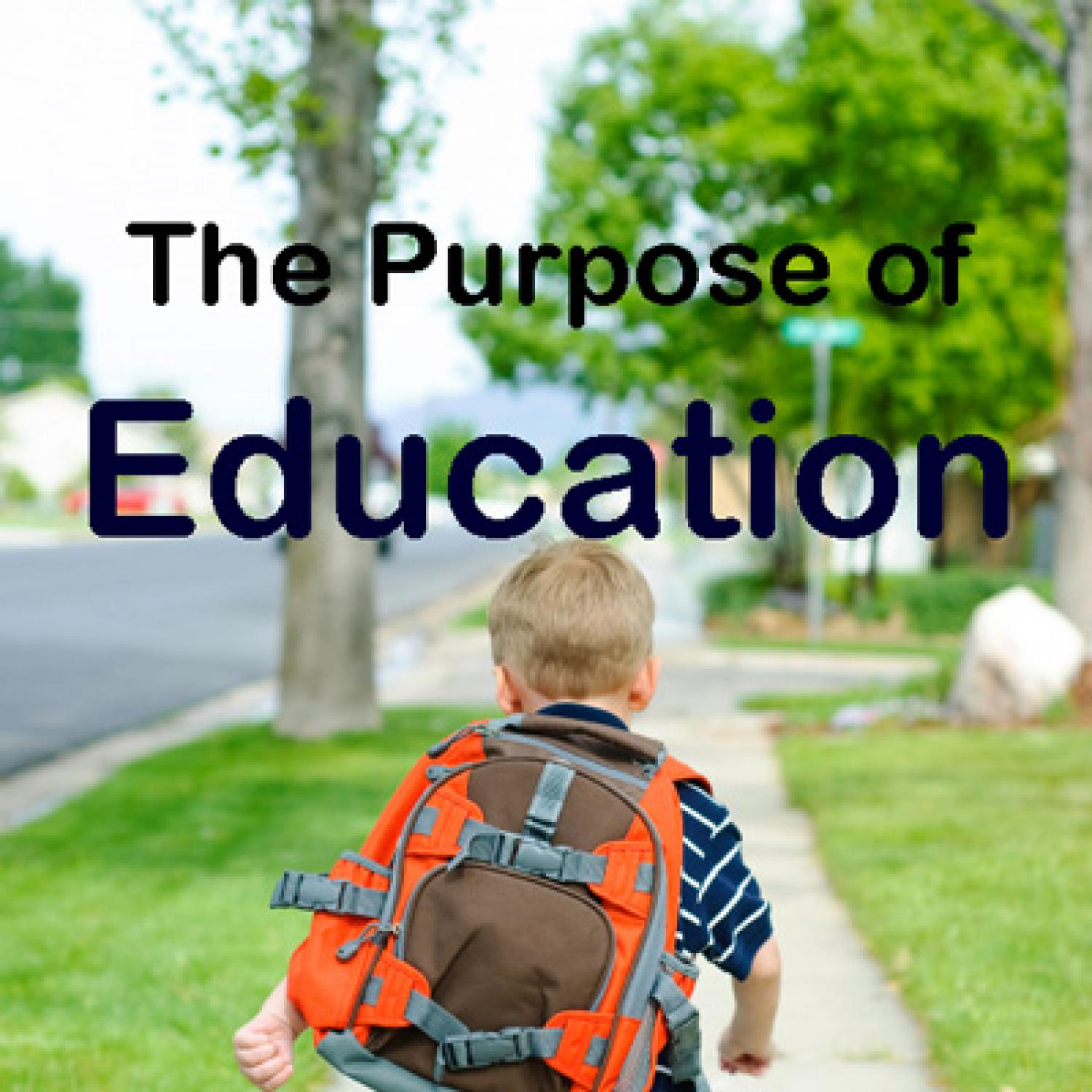 004 Purpose Of Education Essay Example Fearsome Pdf University Full