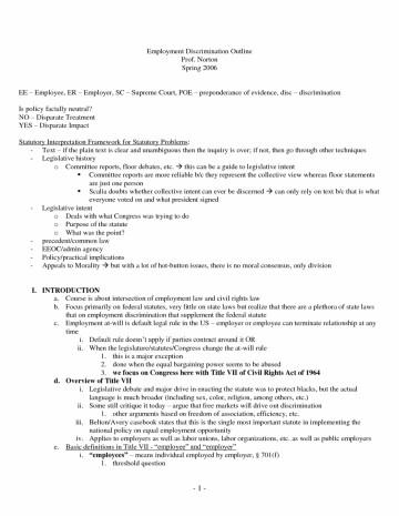 Racial discrimination research paper