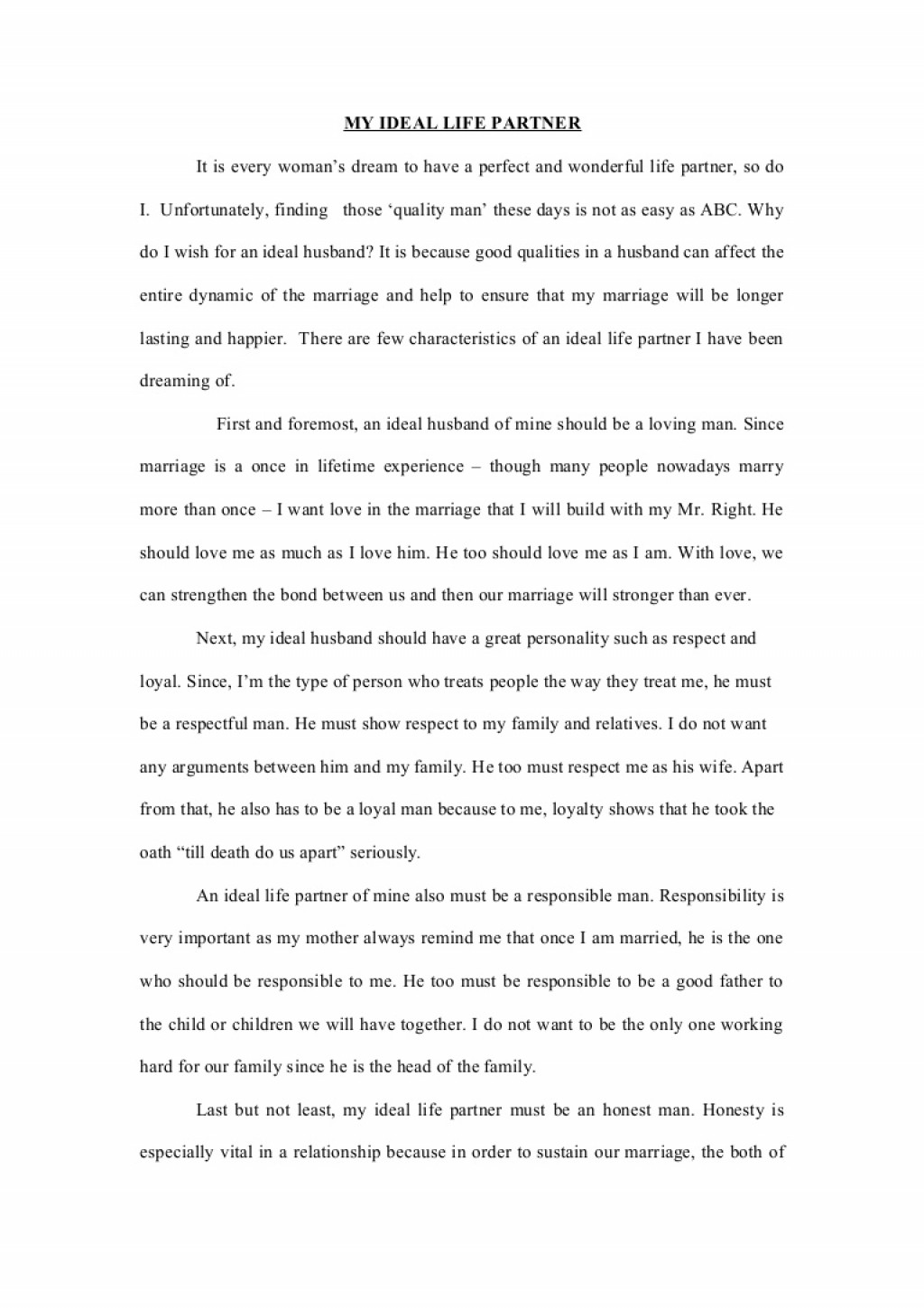 004 Relationship With My Parents Essay Example Phpapp02 Thumbnail Stupendous Large