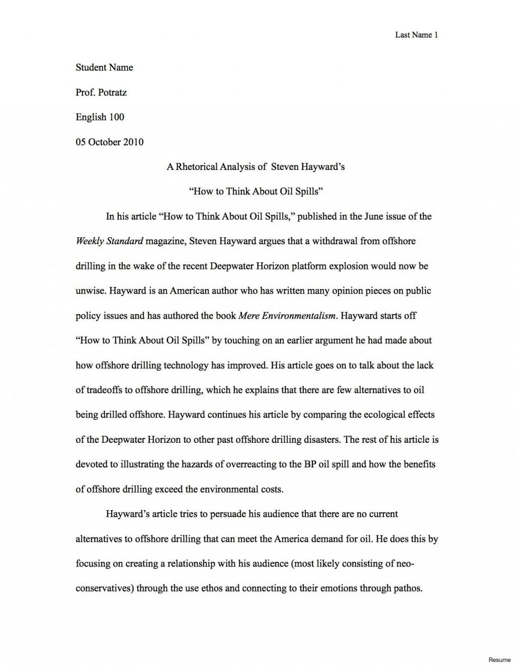 004 Rhetorical Essay Examples Visual Analysis Example Sample Jpg Argument Unusual Ap Lang Strategies Large