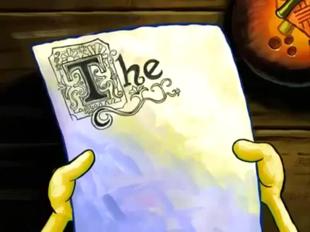 004 Spongebob The Essay Example Crimson Mayhem On Twitter Episode Procrastination Dlrxn2oxoa Breathtaking Full Gif Large