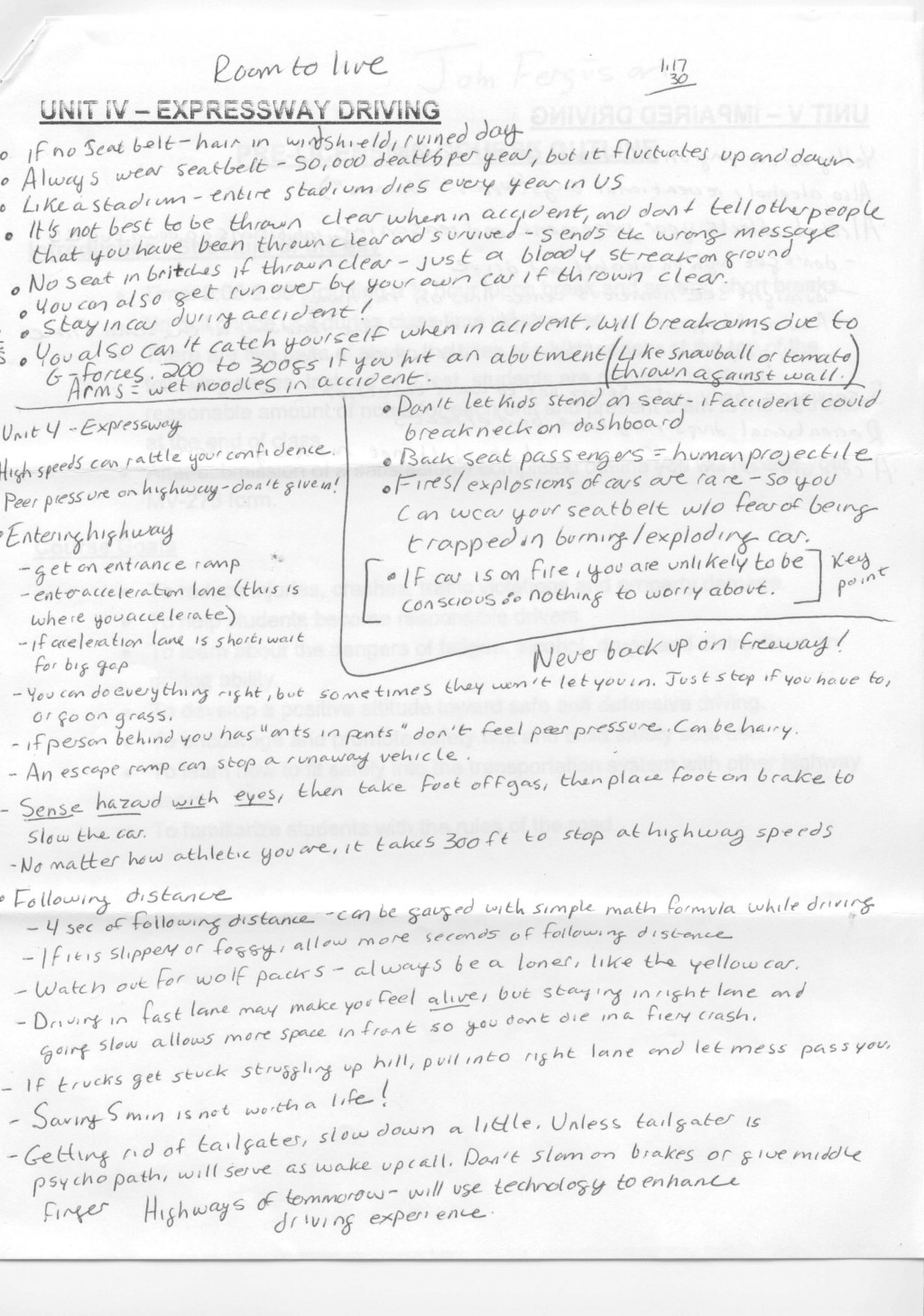 004 Teenage Driving Essay Unit Awesome Accidents Dangers Of Drunk Large