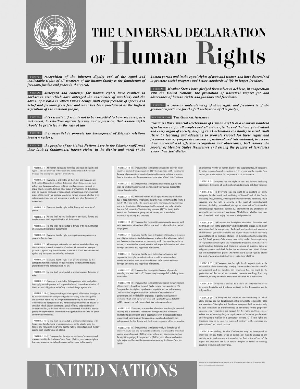 004 Thematic Essay On Human Rights Universaldeclarationofhumanrights Stunning Justice Large