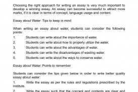 004 Water Conservation Essay Example Phenomenal On Rainwater In Hindi Soil And Kannada