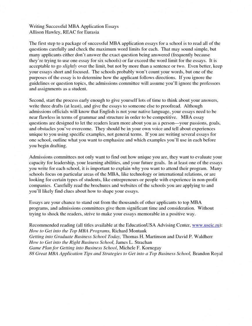 004 Wharton Mba Essay Example Executive Samples Sample Help Admission L Imposing Tips Essays 2019