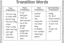 004 What Are Transitions In An Essay Example Transition Unbelievable 6.