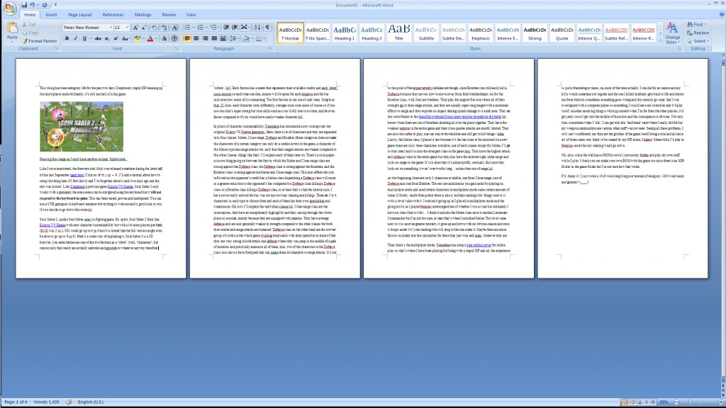 004 Word Essay Is How Many Pages Dreaded 1000 A Handwritten Large