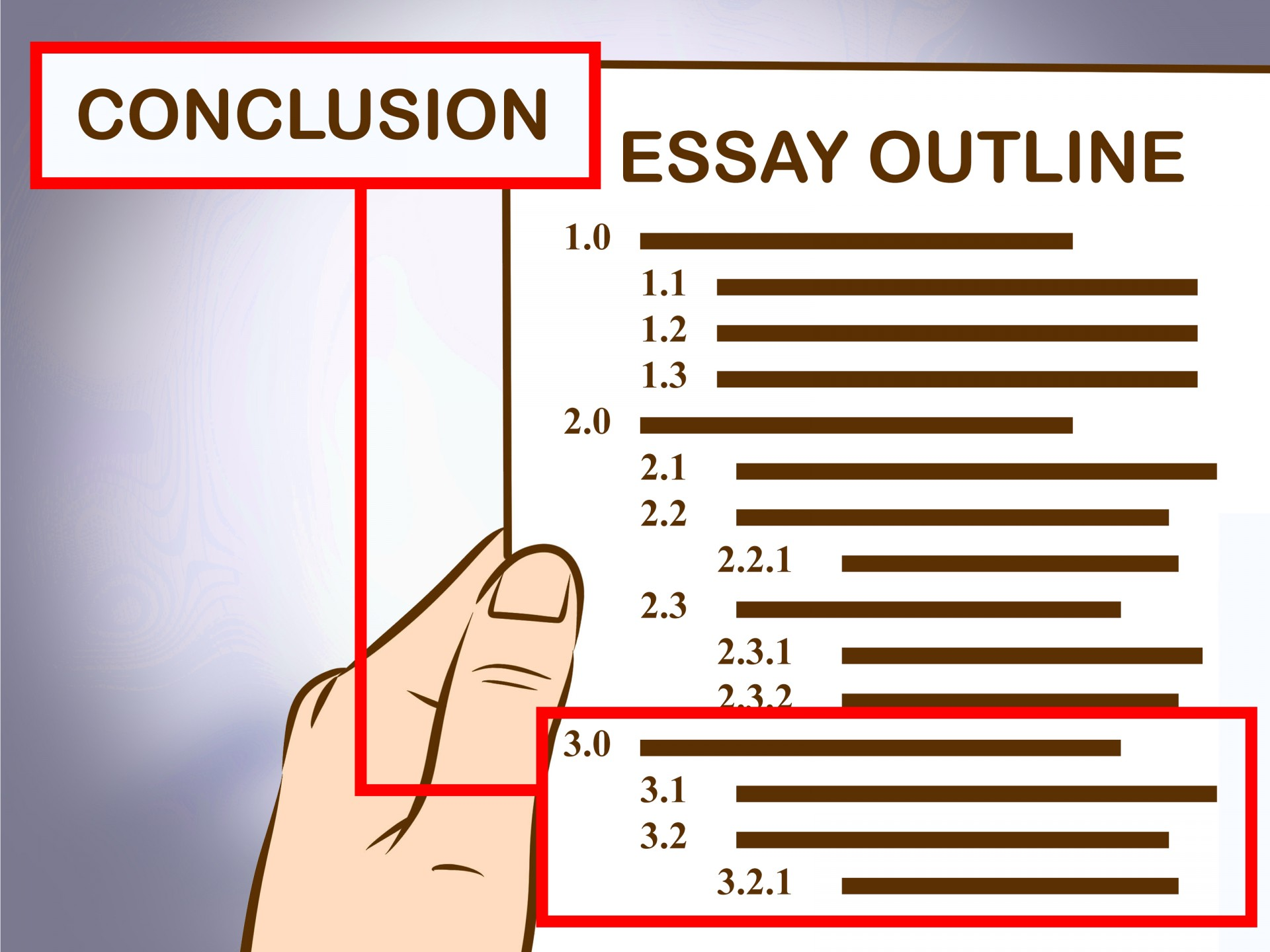 004 Write An Essay Outline Step Version Example How Excellent To High School 1920