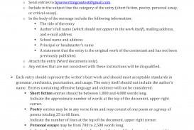 004 Writing Contest For High School Studentsjfksdl Essay Example Impressive Jfk Winners Requirements