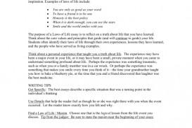 005 008063696 1 Laws Of Life Essays Impressive Essay Examples 2012