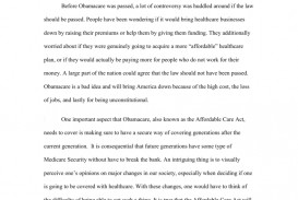 005 009654002 1 Obamacare Essay Stupendous Analysis Repeal Conclusion