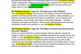 005 1558972385 How To Stop Air Pollution Essay Sensational Outline Thesis Statement
