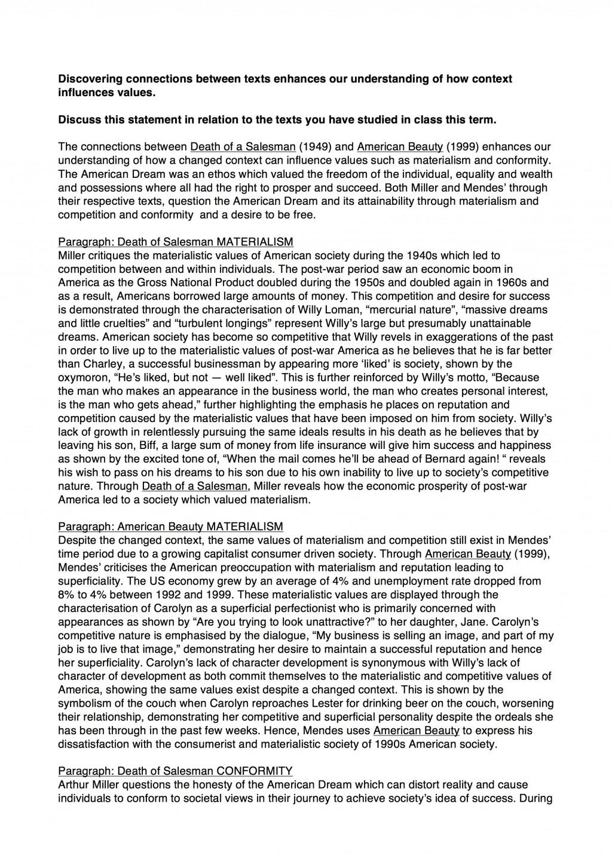 005 3720257487merican Beauty Death Salesman Essay Example Of Phenomenal A Topics Argumentative Large