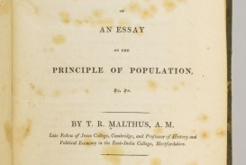 005 5337830061 2 Thomas Malthus An Essay On The Principle Of Population Marvelous Summary Analysis Argued In His (1798) That