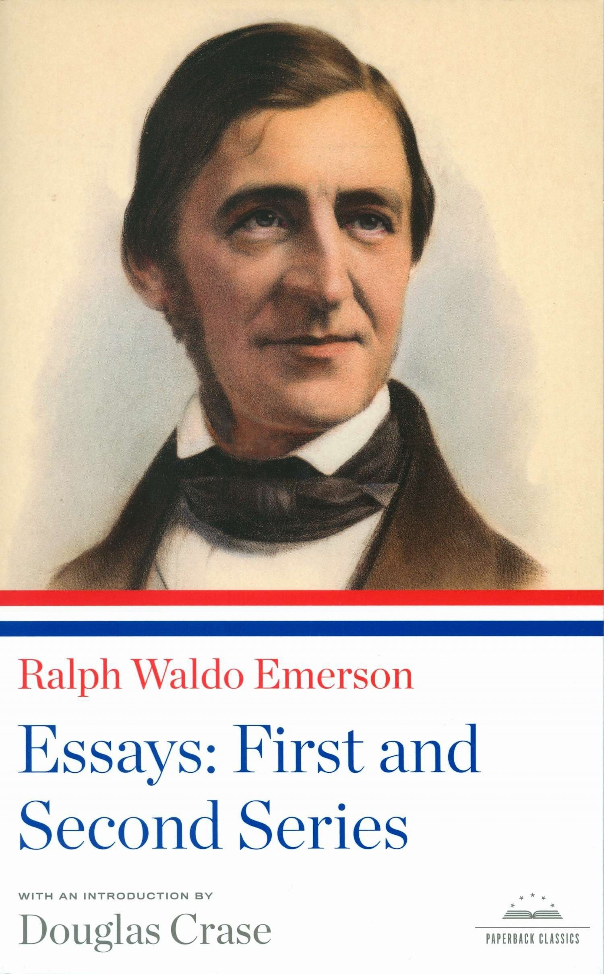 005 81bbtjzup6l Essay Example Emerson Dreaded Essays Self Reliance And Other Second Series Nature 1920