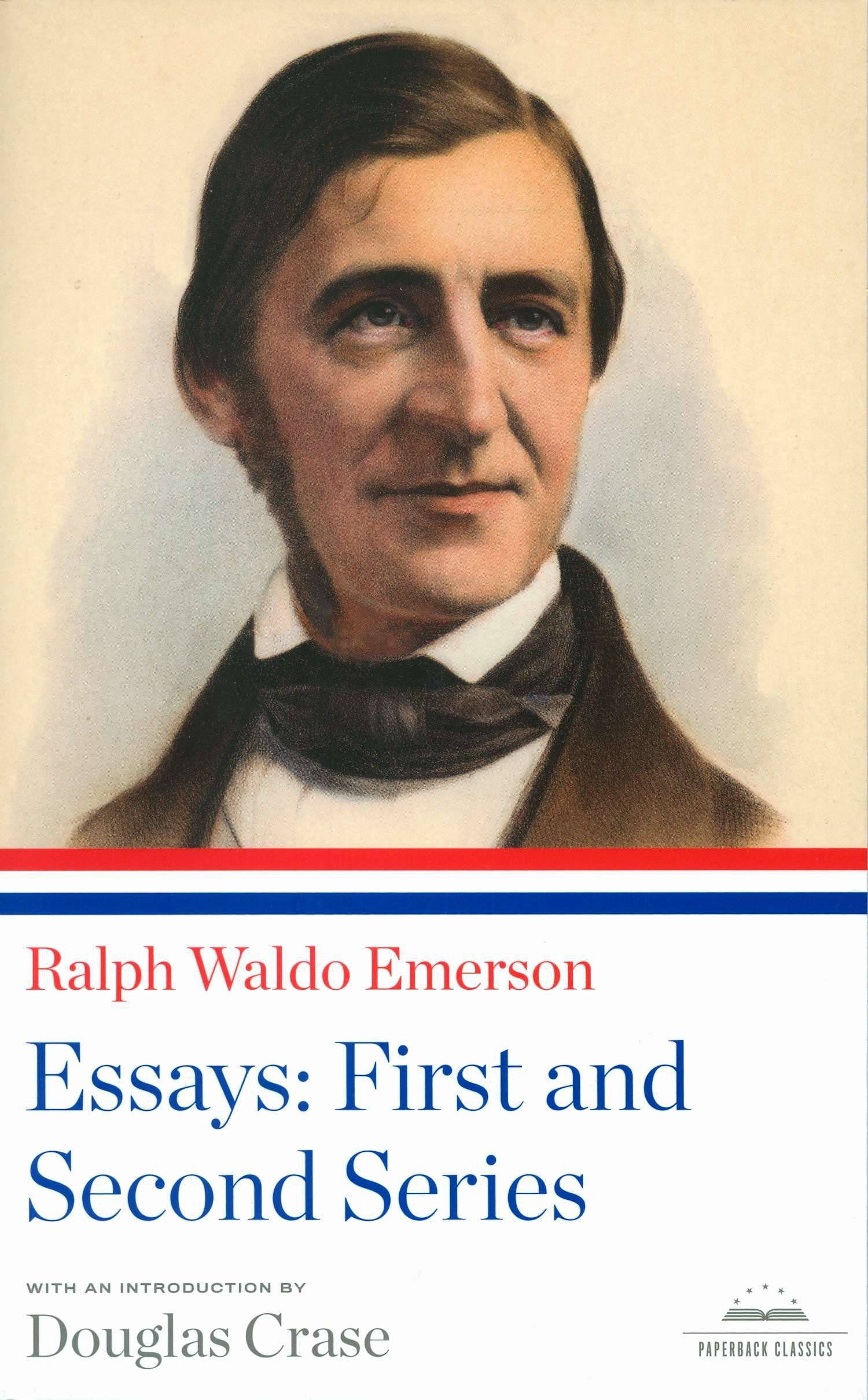 005 81bbtjzup6l Essay Example Emerson Dreaded Essays Self Reliance And Other Second Series Nature Full