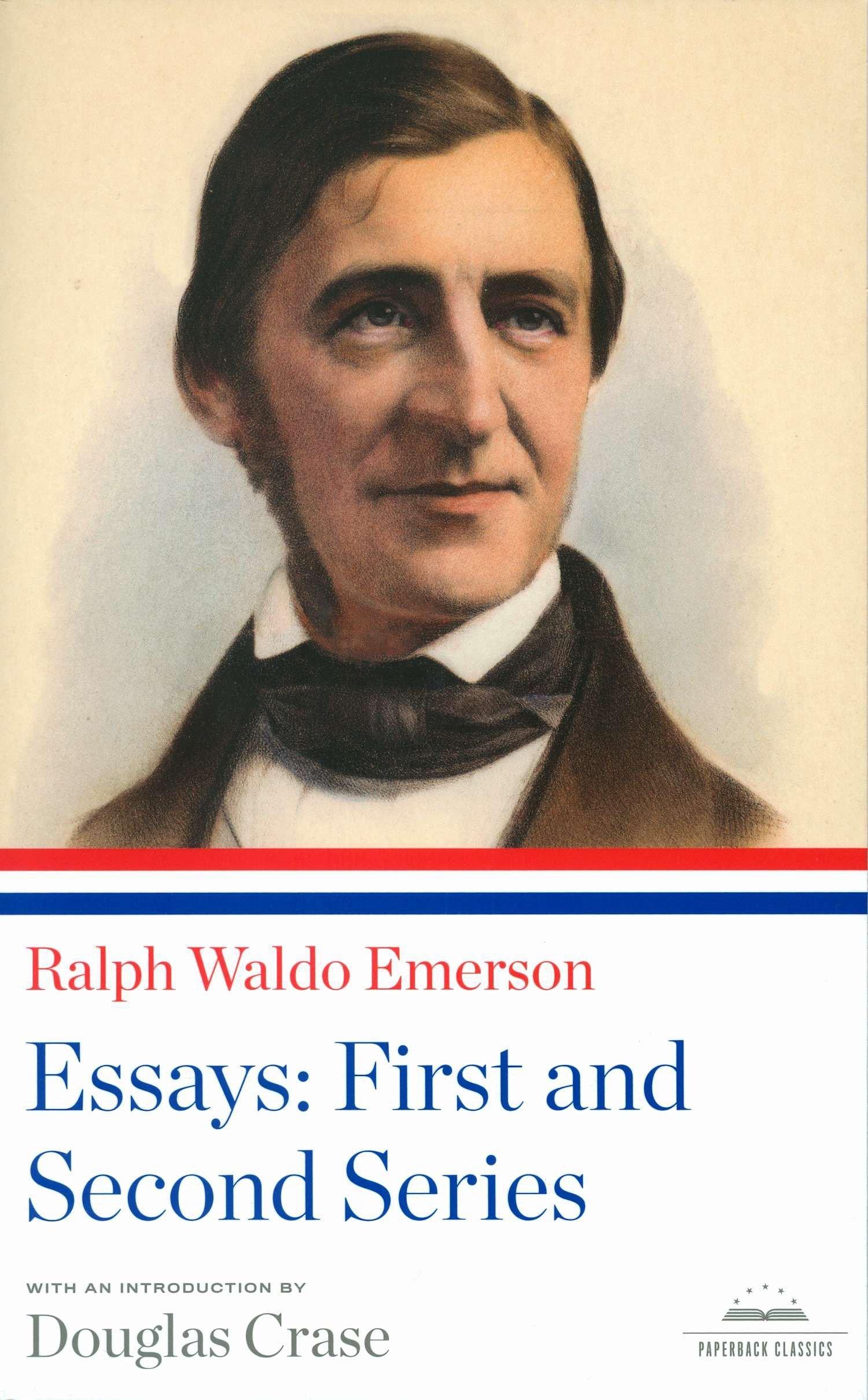 005 81bbtjzup6l Essay Example Emerson Dreaded Essays Ralph Pdf First Series Summary Waldo Nature Full