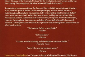 005 91viw96oq0l Essays Of Warren Buffett Essay Top 4th Edition The Pdf Free