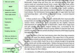 005 939861 1 Guide To Writing An Opinion Essay Example About Fast Unbelievable Food Restaurants Short British Council 320