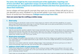 005 Act Essay Tips How To Write An Application Craftan Stellar College Incredible Prepscholar