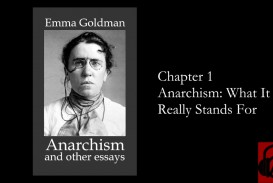 005 Anarchism And Other Essays Essay Example Incredible Emma Goldman Summary Mla Citation
