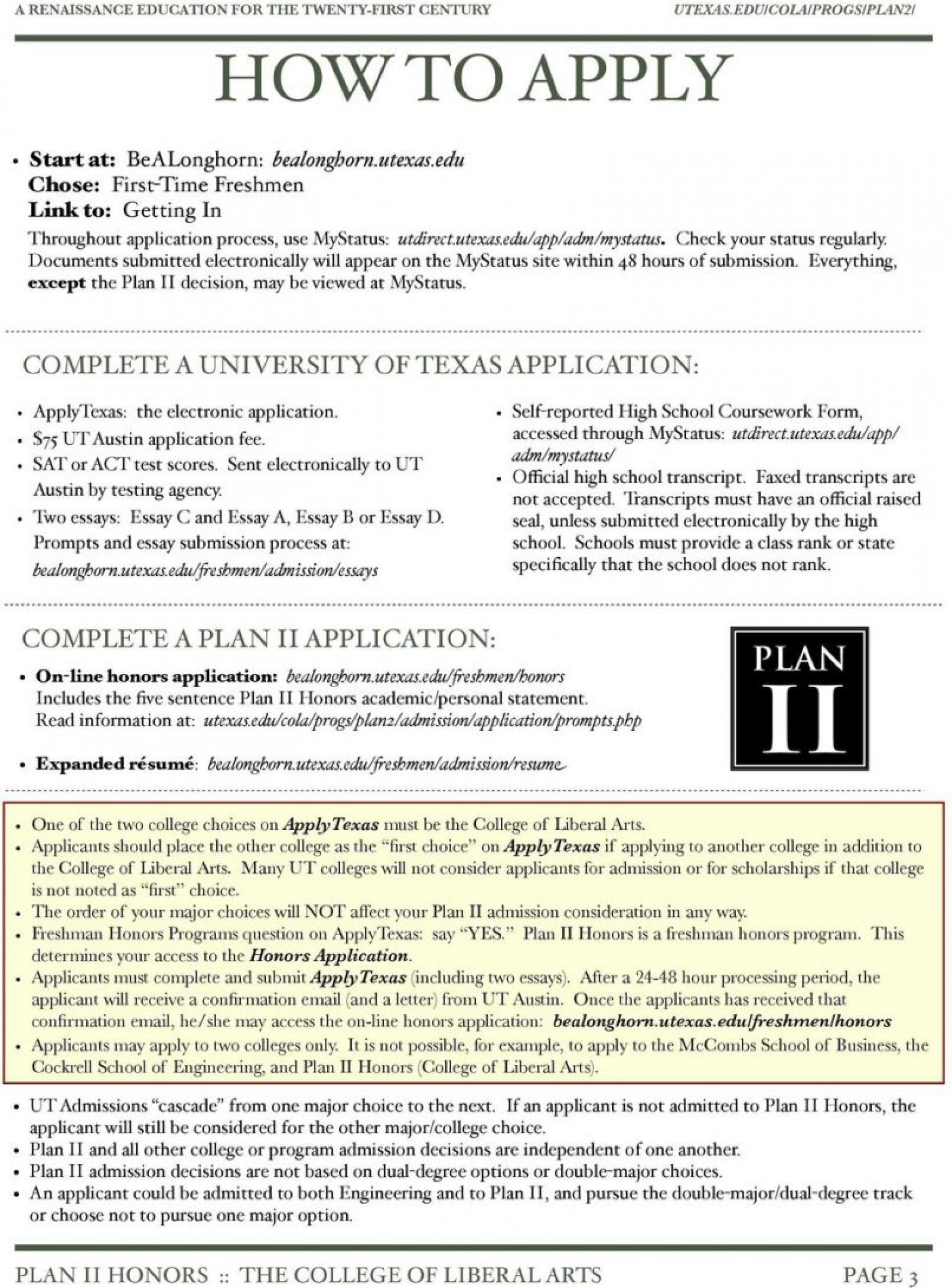 005 Apply Texas Essay Prompts Example Applytexas Poemdoc Or Topic Examples P Top A B And C 1920