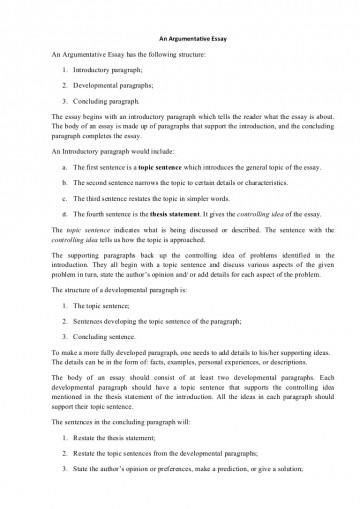005 Argumentativeessaystructure Phpapp01 Thumbnail Essay Example Persuasive Outstanding Structure Pdf Prezi Nat 5 360