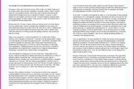 005 Autobiography Essay Example Family Background Sample Autobiographical Unique Pdf Examples For College