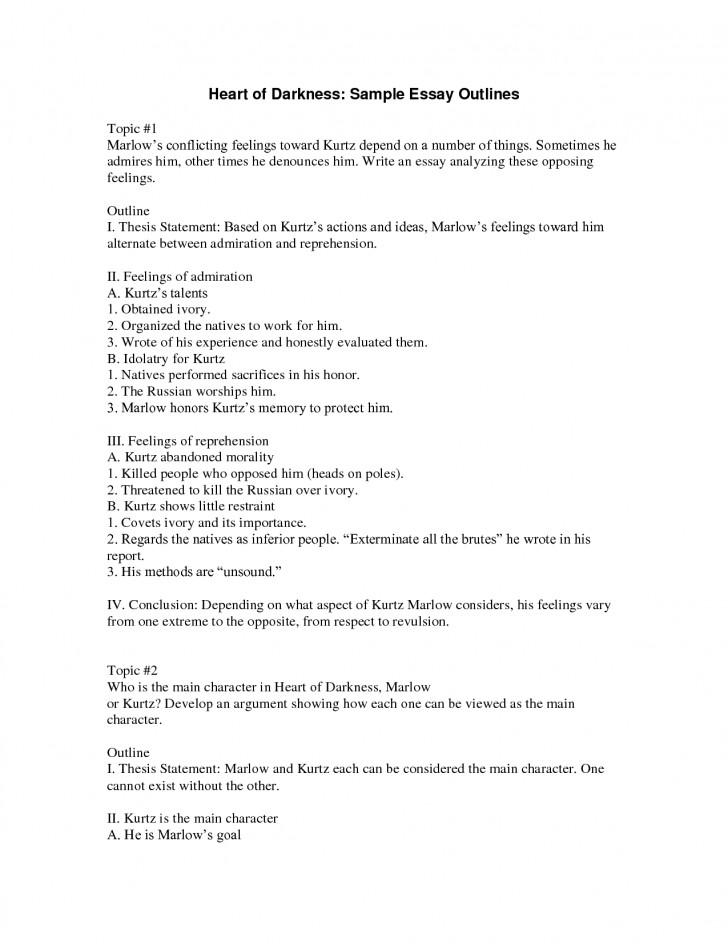005 Best Photos Of Types Outlines And Samples Research Example An Outline For Essay L Beautiful Template Compare Contrast Pdf 728
