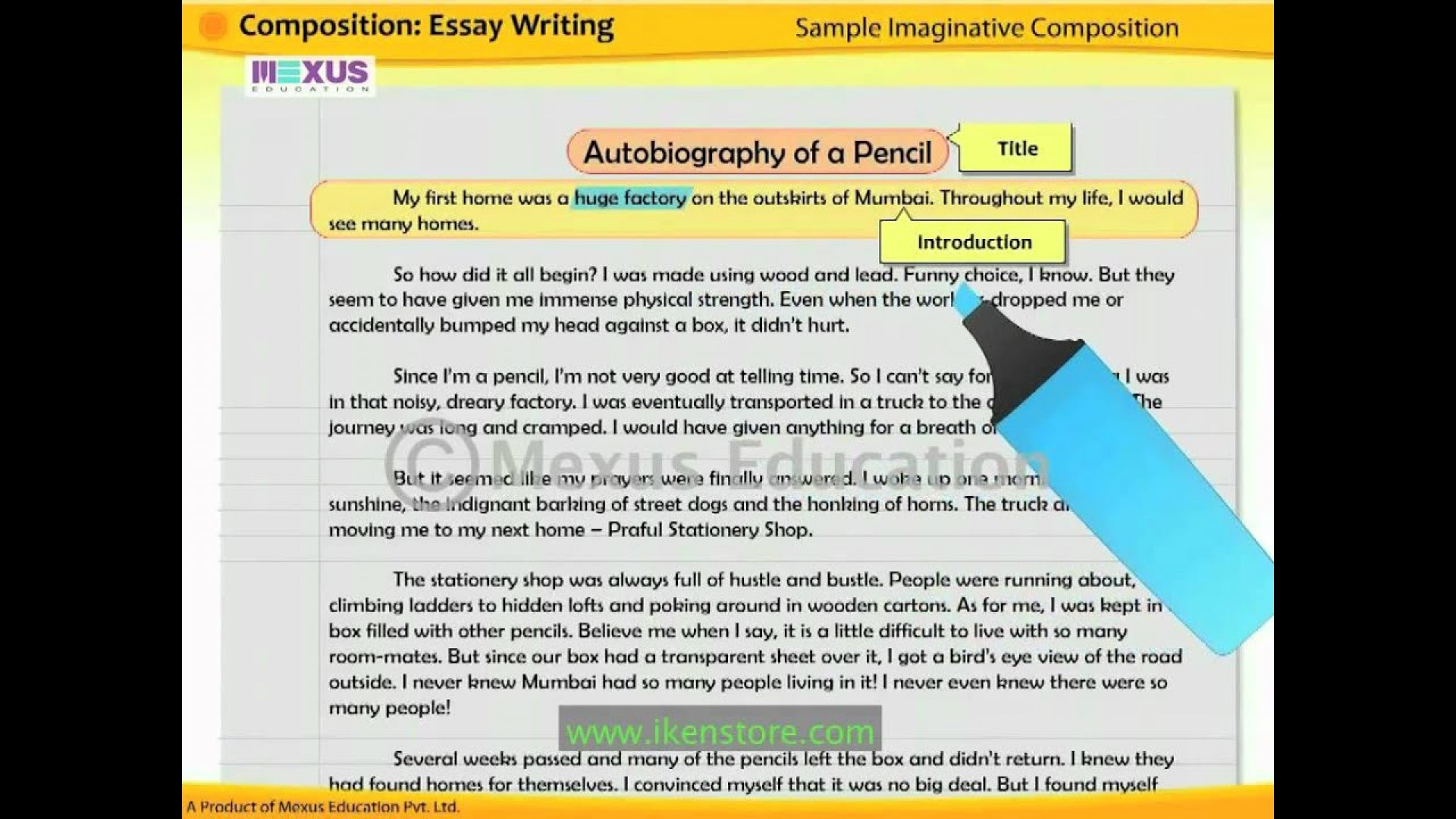 005 Composition Essay Example Beautiful Picture Narrative Long Writing 1920