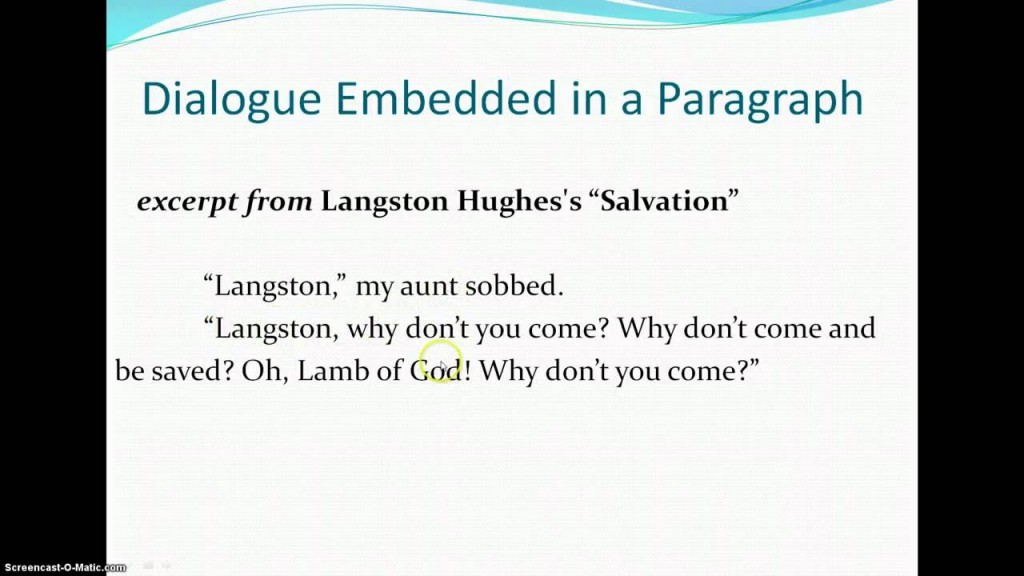005 Dialogue Essay Maxresdefault Awful Dialog Examples Format Sample Large