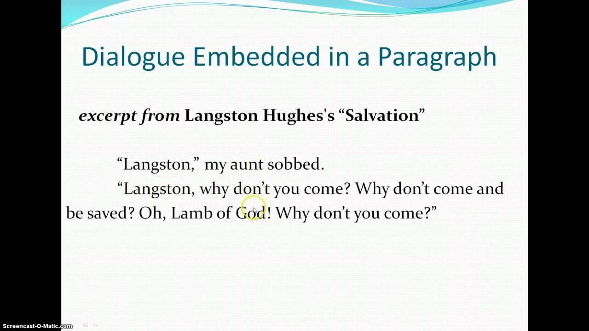 005 Dialogue Essay Maxresdefault Awful Dialog Examples Format Sample 1920