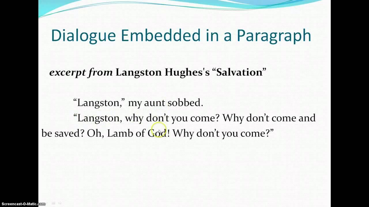 005 Dialogue Essay Maxresdefault Awful Dialog Examples Format Sample Full