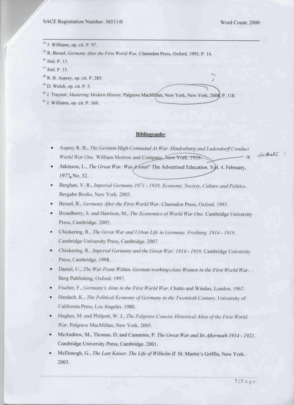 005 Endnotes2bbibliography1 Why Uchicago Essay Fearsome Length Examples Large