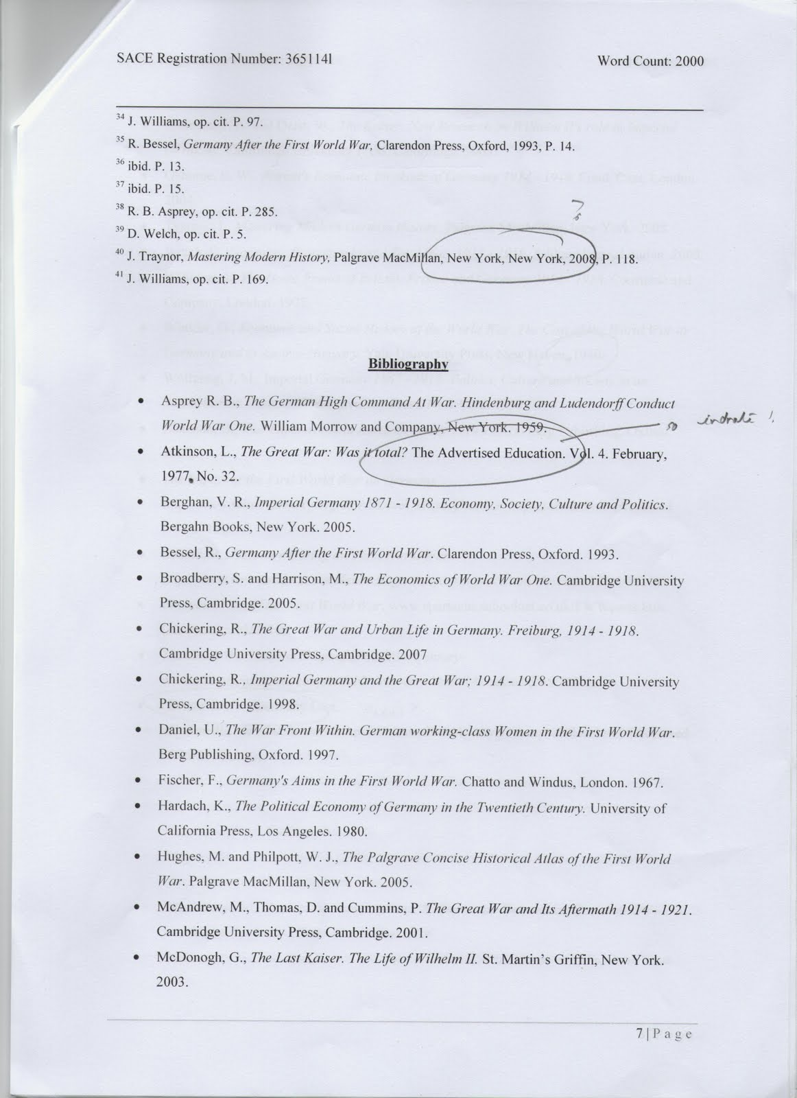 005 Endnotes2bbibliography1 Why Uchicago Essay Fearsome Length Examples Full