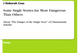 005 Essay Example 368622 0 The Danger Of Single Unbelievable A Story Analysis Rhetorical Pdf