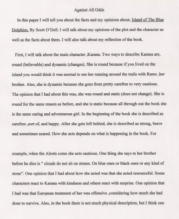 005 Essay Example Against All Odds Explanatory Fascinating Topics Informative For College High School Prompt 4th Grade 360