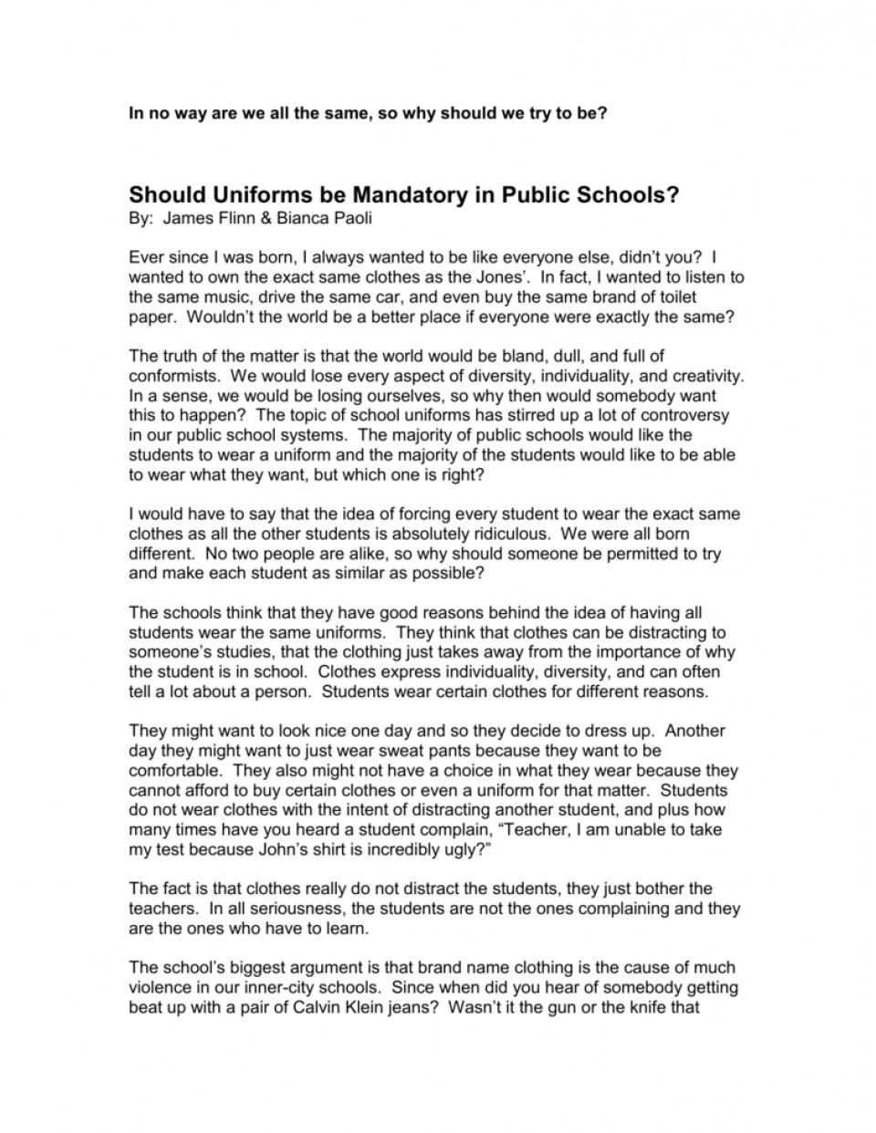 Education should not be compulsory argumentative essay