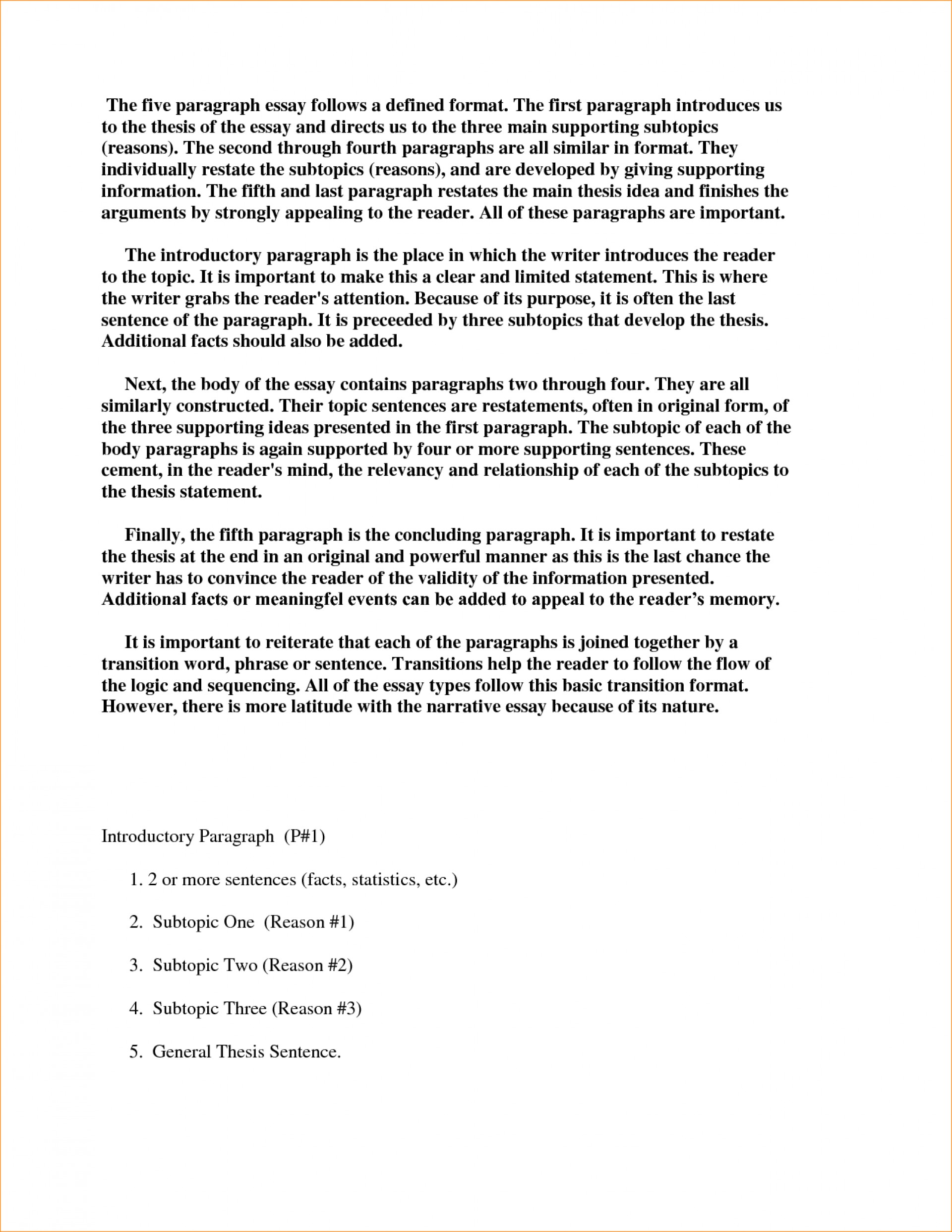 005 Essay Example Body Paragraphs Of An Concluding Paragraph Ap How To Start Off In Examples Format Expository Synthesis Informative Third Persuasive Argumentative Narrative Impressive A The First Words 1920