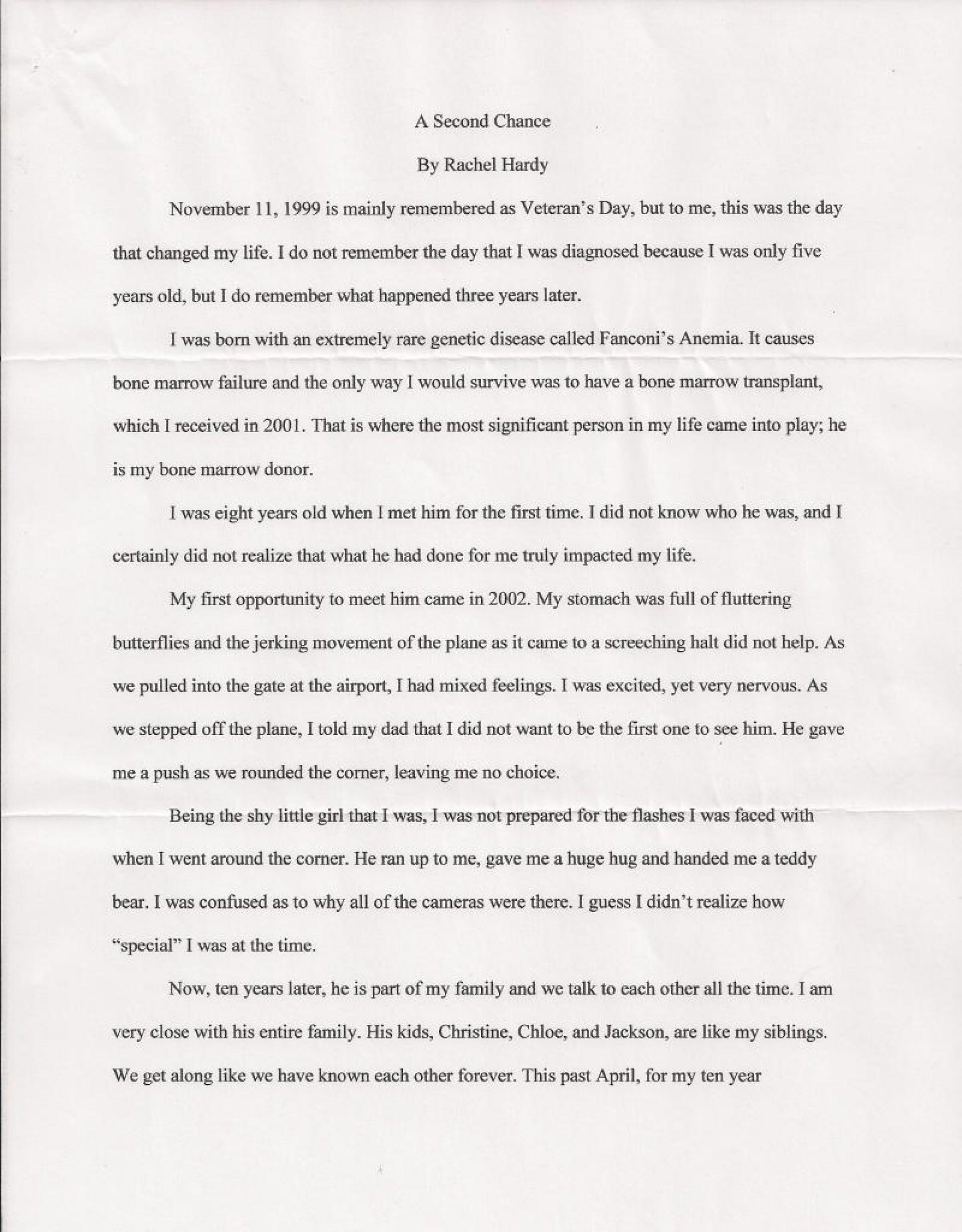 005 Essay Example College Scholarship Rachel Hardy 1 206151151 Std Best Topics List Template Tips 1920
