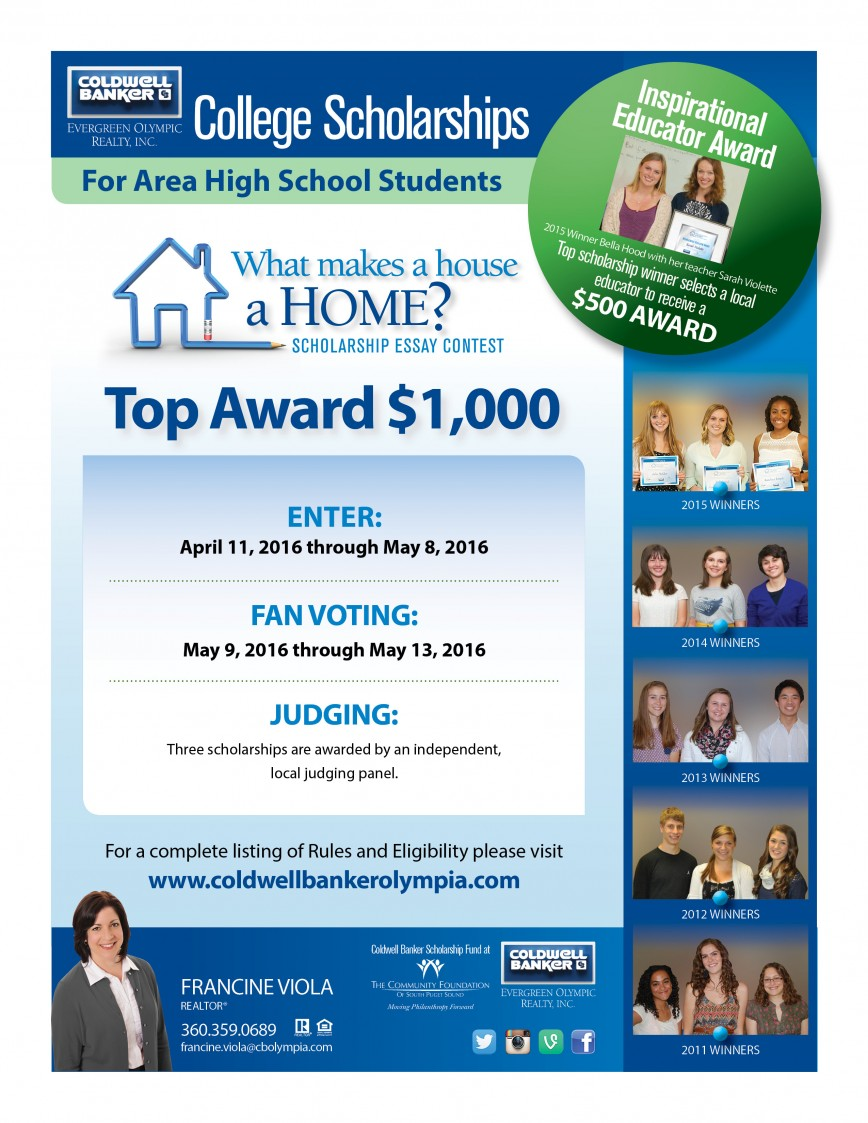 005 Essay Example Contests For High School Students Cb Scholarship 2016 Flyer Francineviola Surprising Money Personal