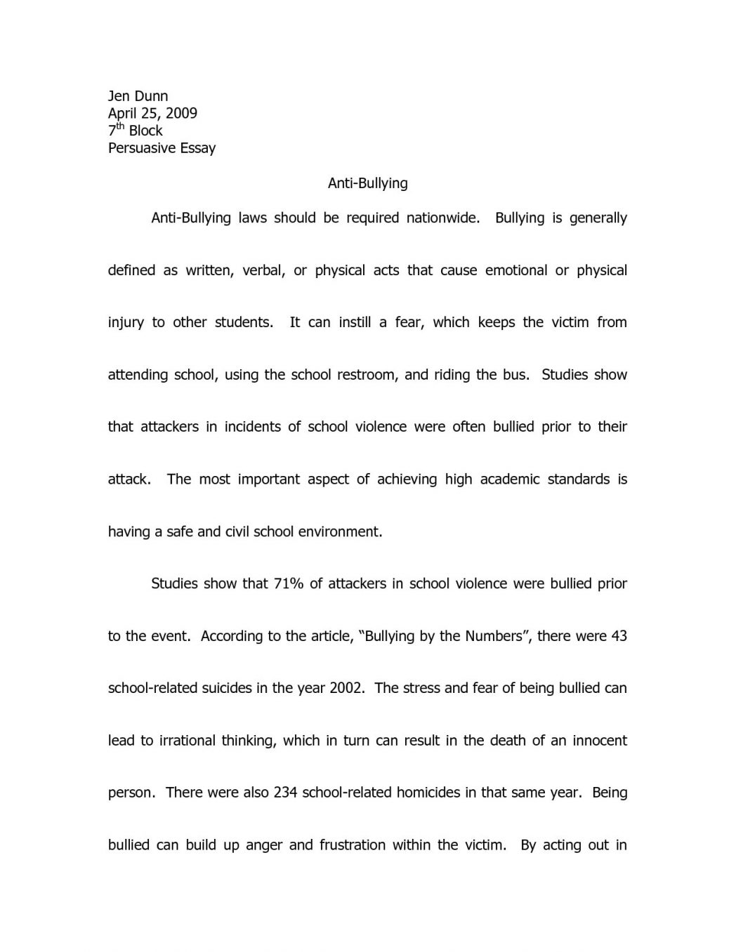 005 Essay Example Cyberbullying On Speech Good Books To Write Essays Persuasive Topics About Tudors Ks2 Websi Cyber Bullying Argumentative Beautiful Conclusion Paragraph Full
