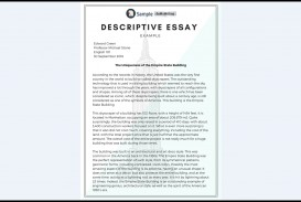 005 Essay Example Descriptive Impressive Topics Rubric Middle School About An Event 320