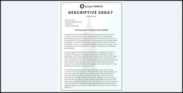 005 Essay Example Descriptive Impressive Writing Definition Wikipedia Format Ppt 360
