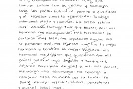 005 Essay Example Essays In Spanish Csec June2011 Paper2 Sectionii Letter Pg2 Ex  Fascinating Tips For Writing Written Phrases