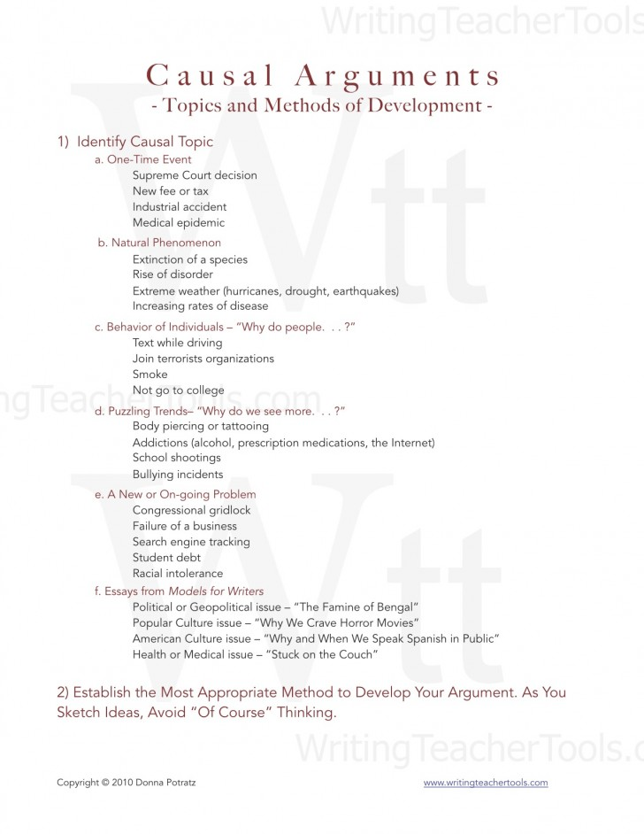 005 Essay Example Evaluative Causal Topics For Argument And Methods Of Develo Evaluation Marvelous Debate Prompts Persuasive High School 728