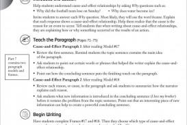 005 Essay Example Examples Of Cause And Effect Rare Topics Writing Prompts