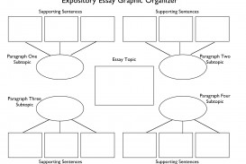 005 Essay Example Expository Graphic Awesome Organizer Printable Writing Middle School